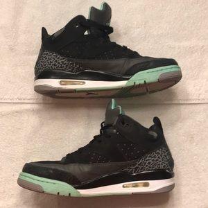 Air Jordan Son of Mars Green Glow Lows